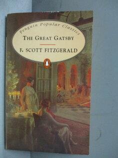 【書寶二手書T1/原文小說_MOL】TheGreatGatsby_Fitzgerald,F.Scott