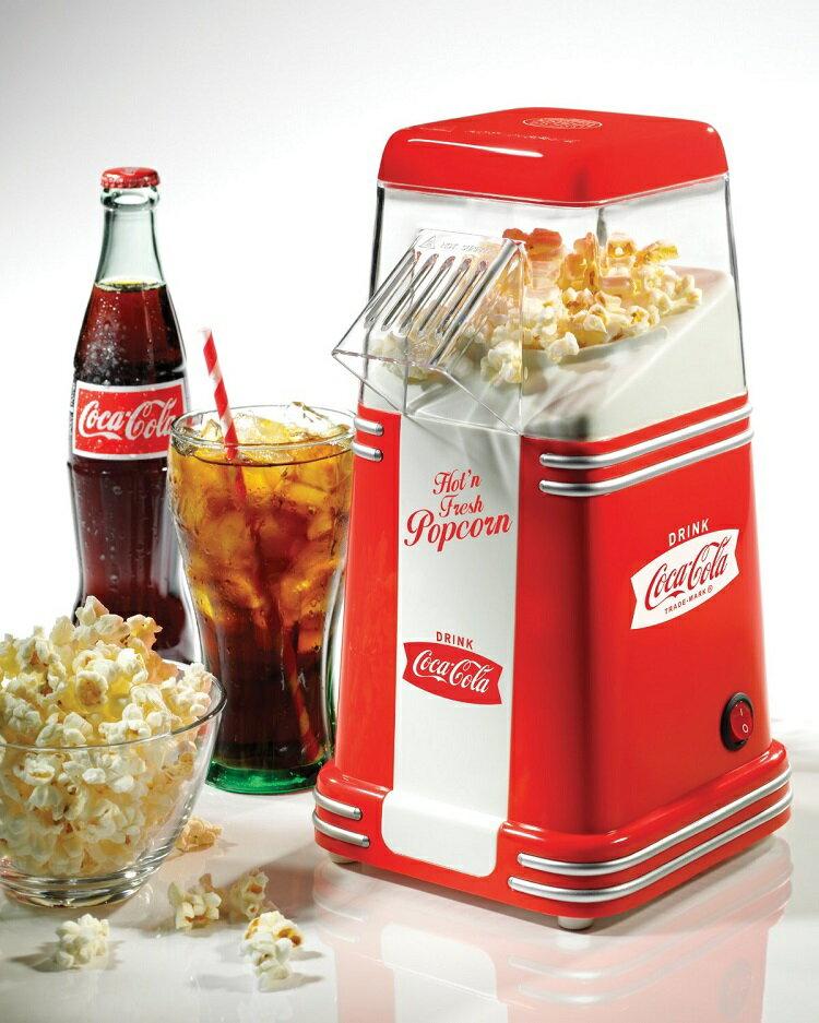 ::bonJOIE:: 美國進口 Nostalgia Coca Cola 迷你可口可樂 爆米花機 (全新盒裝) Electrics Mini Hot Air Popcorn Popper