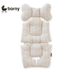 韓國【Borny】 全身包覆墊(推車、汽座、搖椅適用)(奶油白)