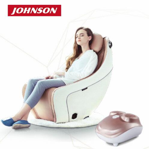 【母親節組合】|喬山JOHNSON SYNCA 小室沙發/按摩椅 MR320 + 多感按摩全足機C32