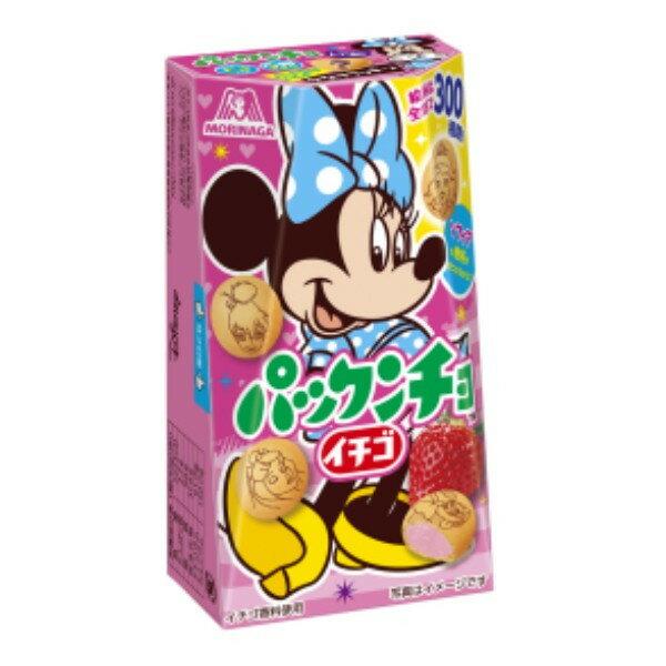 【即期良品】Morinaga森永製果 迪士尼草莓夾心餅乾(45g) *賞味期限:2017/11/30*
