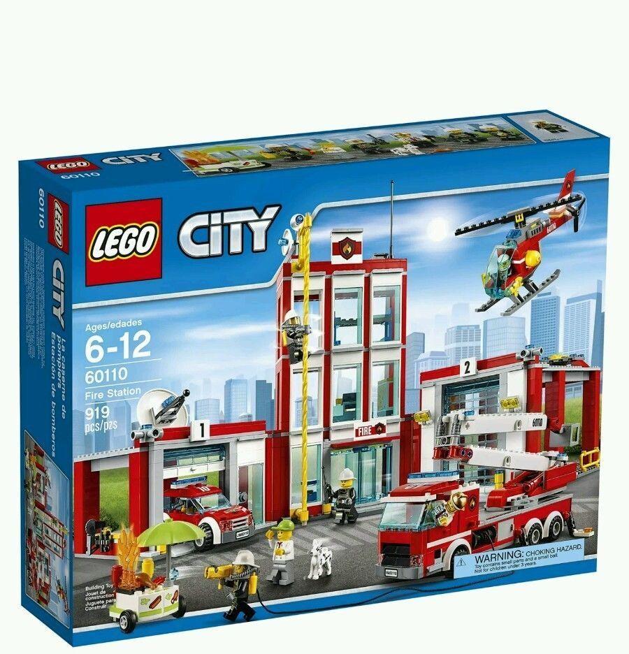 【瞎買天堂x3/10到貨】樂高 LEGO 城市系列 消防局 60110【TYLECT01】
