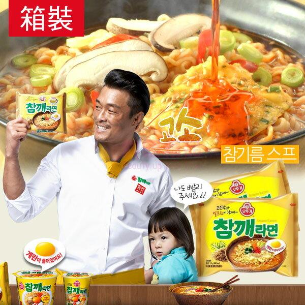 韓國 不倒翁 OTTOGI 芝麻風味拉麵 箱裝【特價】§異國精品§
