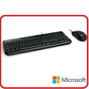 Microsoft APB~00017 無線滑鼠鍵盤組600