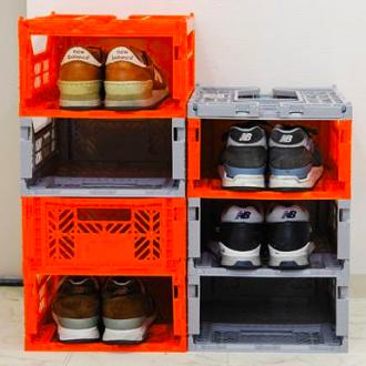 【Limiteria】(中)Ay Kasa土耳其多功能折疊 組合 多色專利摺疊收納箱(中),收納 整理 旅遊 玩具箱 水果籃 工具箱 物流箱 置物箱 鞋櫃