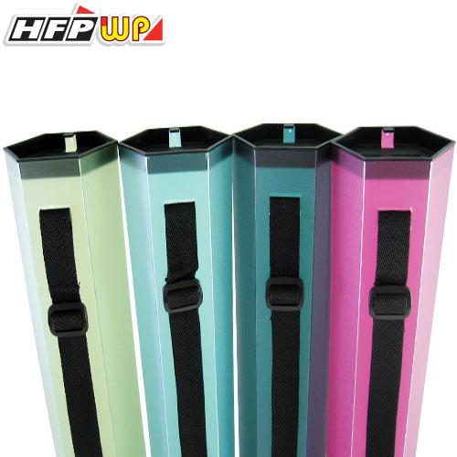 HFPWP 無重量背袋式六角型圖筒(A3) *專利設計.限量商品* 環保材質 非大陸製 E-TUBE / 個