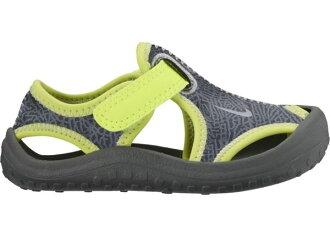 NIKE RUNALLDAY 童鞋 小童 涼鞋 學步鞋 灰 綠【運動世界】903632-002