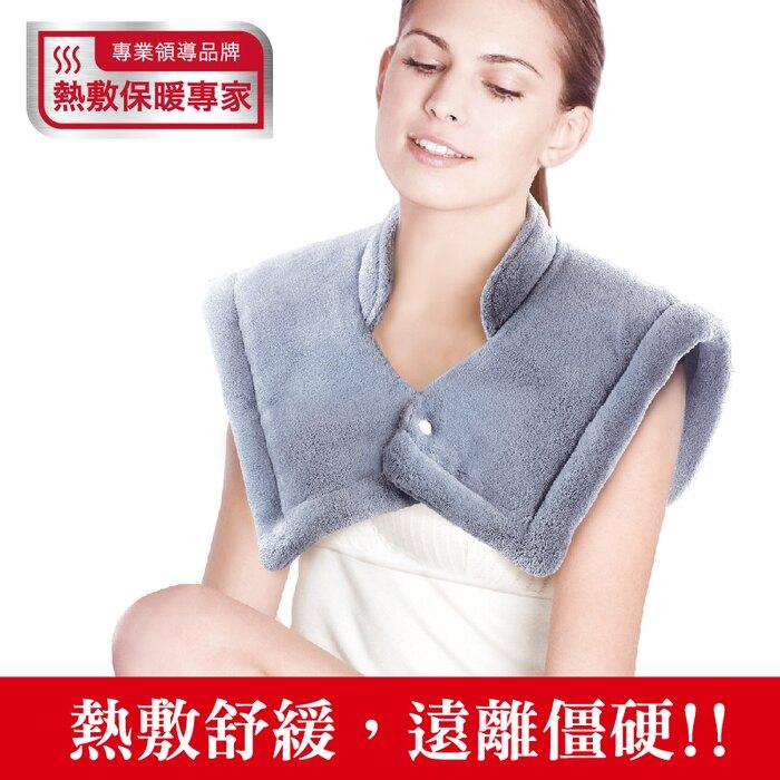 Sunlus三樂事暖暖頸肩雙用熱敷柔毛墊50*50cm (SP1213) 光點藥局 2013735