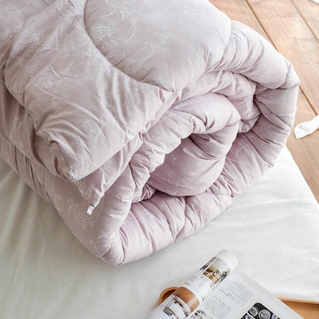 棉被 【夢境】科技羽絲絨被(雙人款2.6KG)-可水洗棉被 絲薇諾