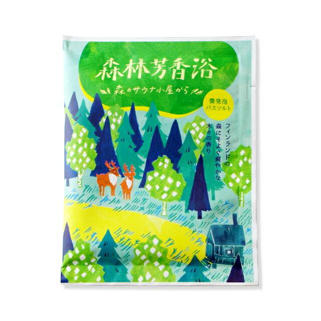 《日本製》CHARLEY 微碳酸入浴劑-森林香 30g 0