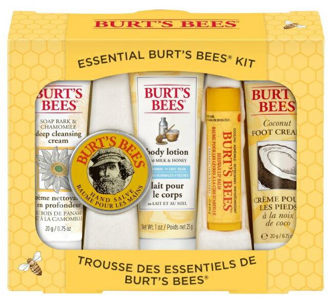 【彤彤小舖】Burt s bees 蜜蜂爺爺-從頭到腳經典禮盒 5件組 美國原廠 - 限時優惠好康折扣