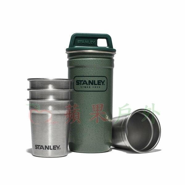 【【蘋果戶外】】Stanley 1001705 冒險系列不鏽鋼酒杯組 不鏽鋼酒壺+不鏽鋼酒杯