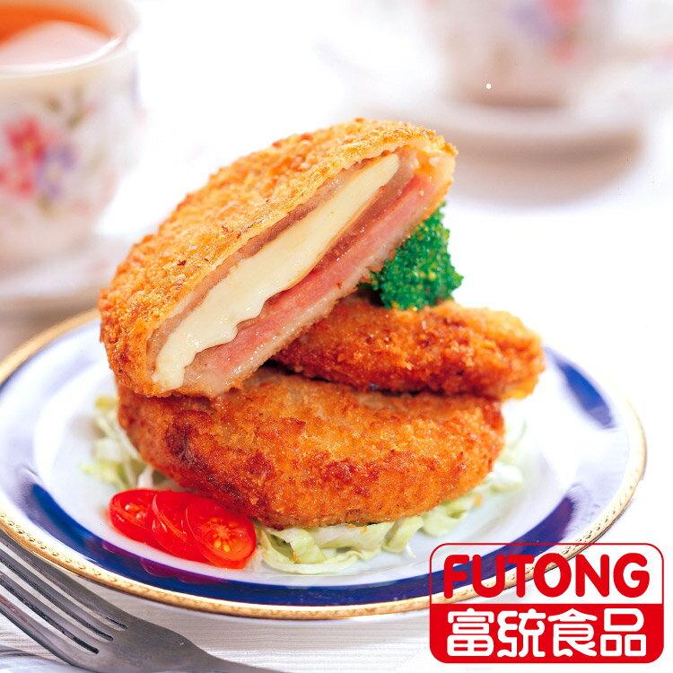 【富統食品】起司豬排 (80g/片;10片/盒)