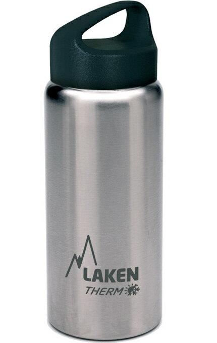 【鄉野情戶外專業】LAKEN  西班牙  Classic不鏽鋼保溫瓶 / 不鏽鋼保溫水壺 500ml  銀 /TA5