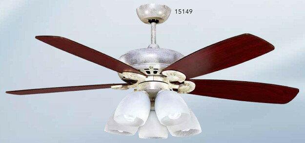 ^(15149^) 60  E27X5 吊扇燈^~客廳燈 房間燈 水晶燈 美術燈 吸頂燈