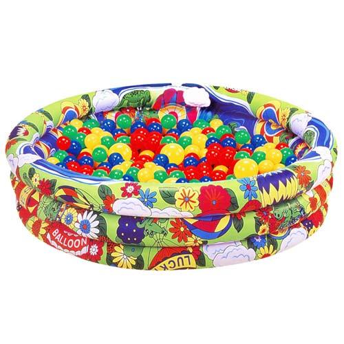 【奇買親子購物網】夏威夷充氣兩用游泳池遊戲池