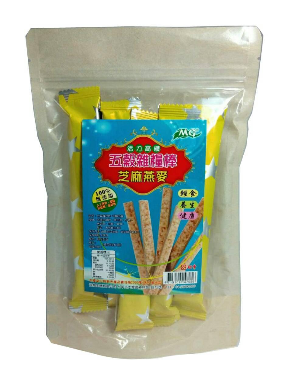 綜合雜糧棒(芝麻燕麥)-180g