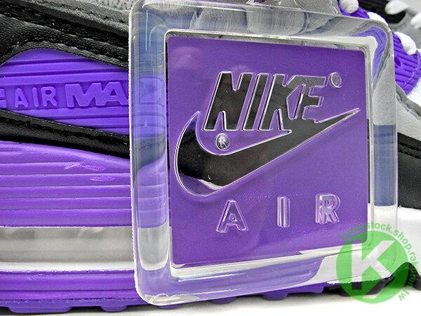 2020 經典復刻慢跑鞋 OG 版型 NIKE AIR MAX 90 白灰黑 紫 網布 絨毛面 大氣墊 慢跑鞋 (CD0881-104) 0120 4