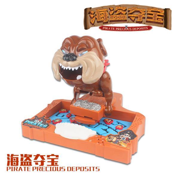 惡犬 海盜寶藏(惡犬加強版) 桌遊 海賊王 加勒比海 益智玩具 桌遊互動 創意整人【塔克】