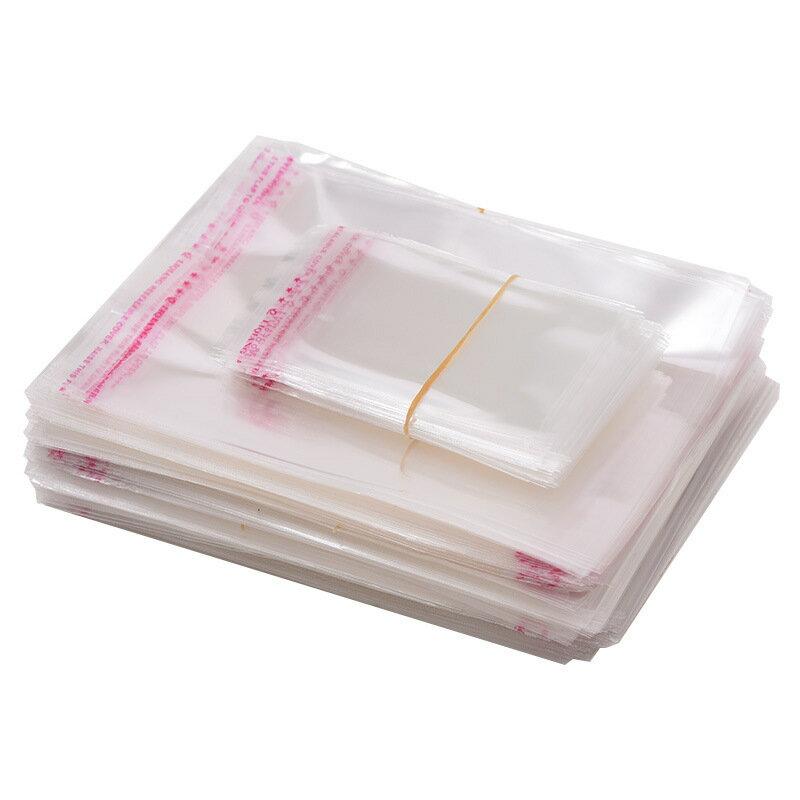 【小尺寸】 OPP自黏袋 100入 平口袋 透明包裝袋