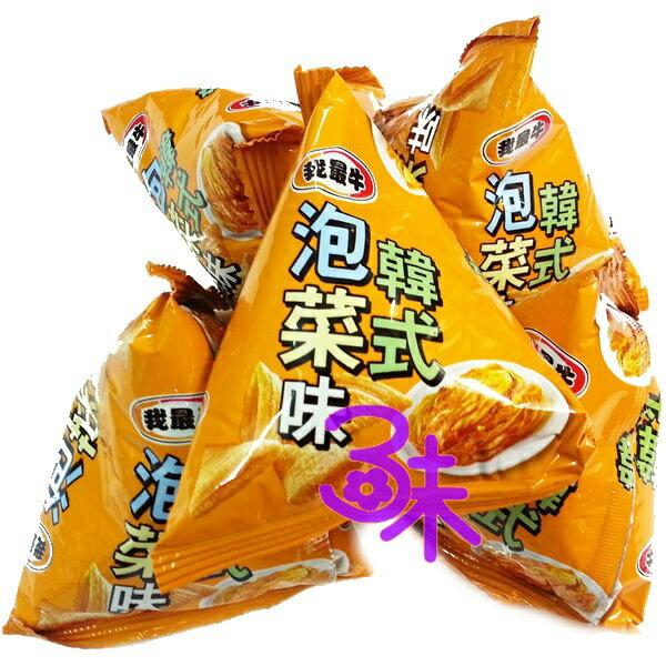 ^(馬來西亞^) 厚毅 我最牛牛角酥~韓式泡菜 金牛角餅乾 1包 600公克^(約25小包