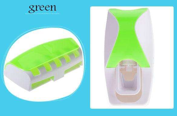 Automatic Toothpaste Dispenser + Toothbrush Holder 4