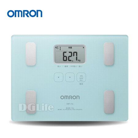 OMRON 歐姆龍 體脂計 HBF-216 藍色 新品上市!限時優惠!!