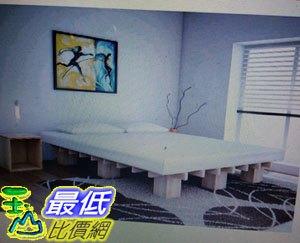 [COSCO代購如果售完謹致歉意]W118289QuaggaDesigns雙人標準床架(ApplicabletoMattress152x190CM)