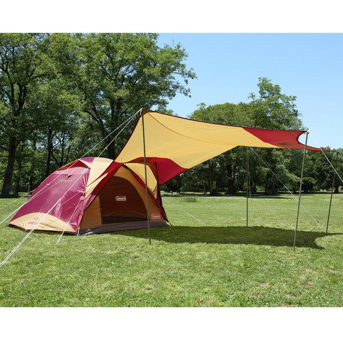 【露營趣】中和安坑贈配件 Coleman CM-26514 勃根地版4-6人透氣圓頂露營帳IV套裝組 露營帳篷