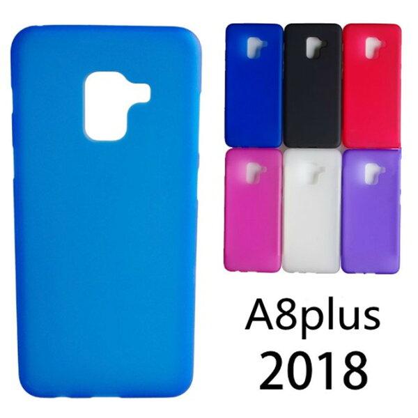 三星2018A8PLUS星奇磨砂透明軟硅胶防保護套