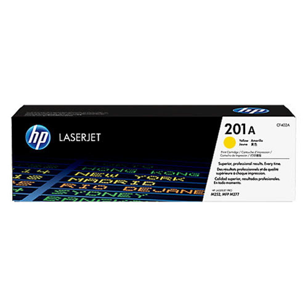 HP 黃色高容量原廠碳粉匣 / 個 CF402X 201X