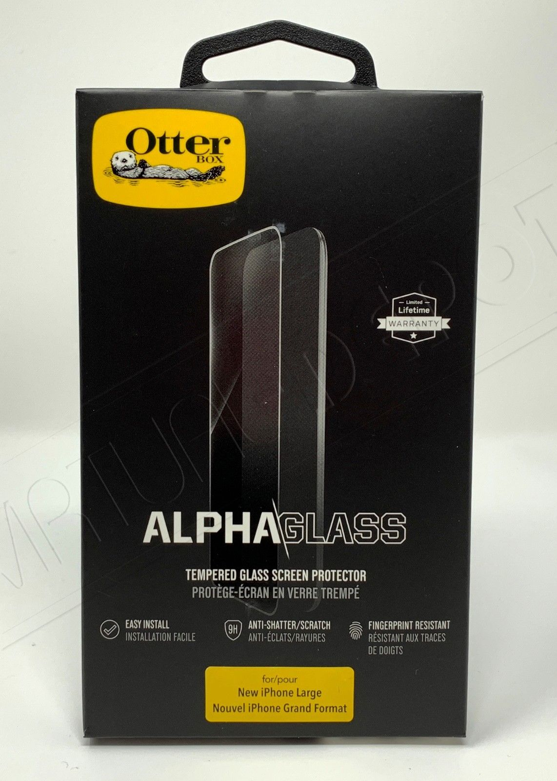 super popular 27230 1f214 Original OtterBox Alpha Glass Screen Protector CLEAR for iPhone X, Xs, & XS  MAX