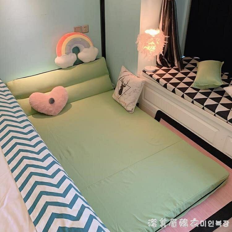 懶人沙發床榻榻米單人可摺疊兩用陽台臥室女小戶型簡易躺椅網紅款