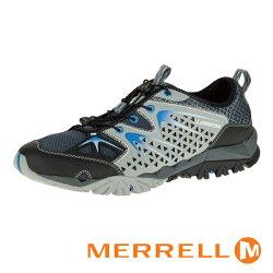 MERRELL 男款溯溪鞋 CAPRA RAPID 灰黑 - ML37677