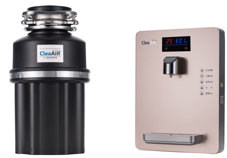 套餐 ~克立爾高效環保廚餘處理機 克立爾智慧溫控飲水機(不含濾芯)