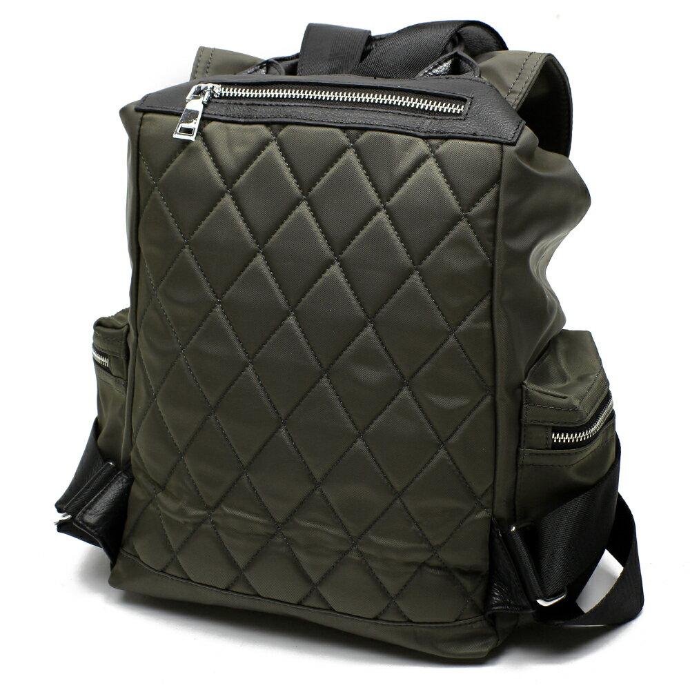 【BEIBAOBAO】倫敦學院防水布配真皮後背包(共兩色:時尚黑) 6