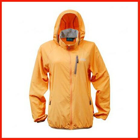 女抗UV單層風衣 橘 3451 - 限時優惠好康折扣