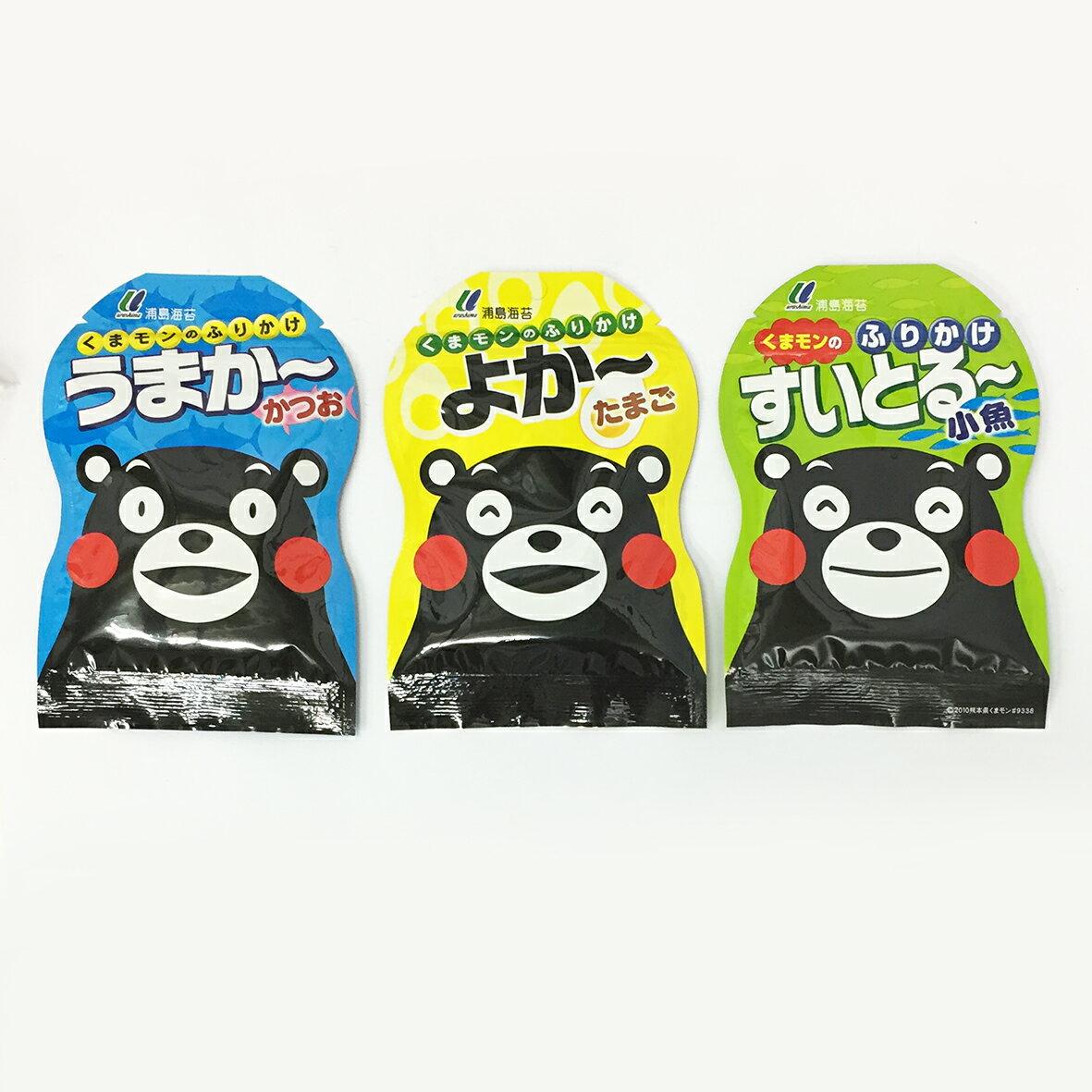 浦島海苔 熊本熊拌飯料 飯友-鰹魚/雞蛋/小魚
