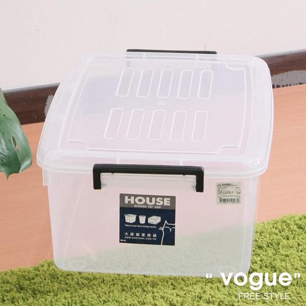 E&J【660003】Mr.box免運費,J02透明萬寶箱33L(3入)收納箱整理箱收納袋衣櫃衣櫥