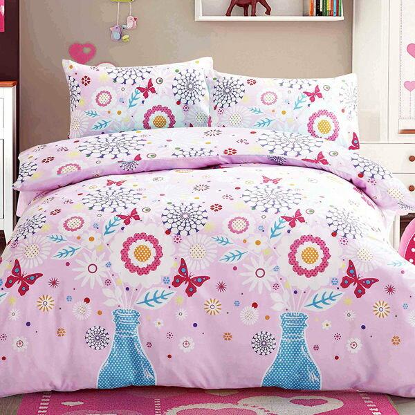Picasso 花蝴蝶 雙人六件式舖棉床罩組/ 哇哇購