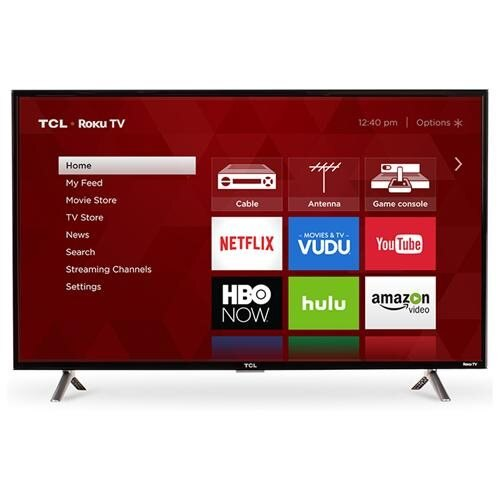 "TCL S 28S305 28"" 720p LED-LCD TV - 16:9 - 1366 x 768 - Dolby Digital Plus - 5 W RMS - LED Backlight - Smart TV - 3 x HDMI - USB - Ethernet - Wireless LAN - PC Streaming - Internet Access 0"