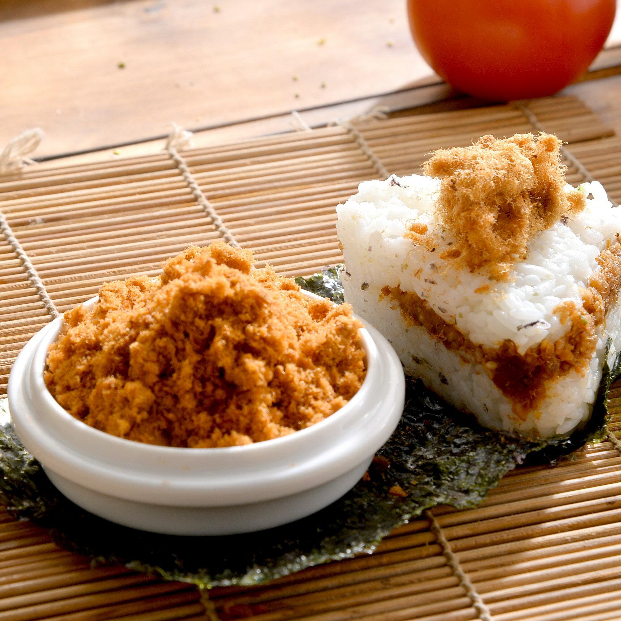 【滋美珍肉乾】鮭魚鬆-適合全家人食用,單純的搭配白飯就很好吃