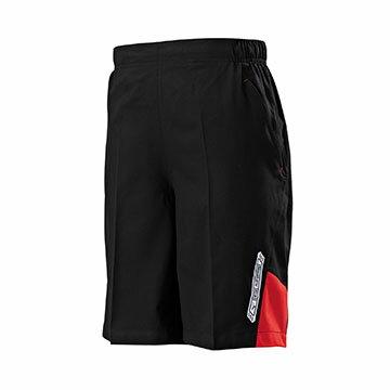 32TB705496(黑X紅)抗紫外線、微彈性 平織運動短褲【美津濃MIZUNO】