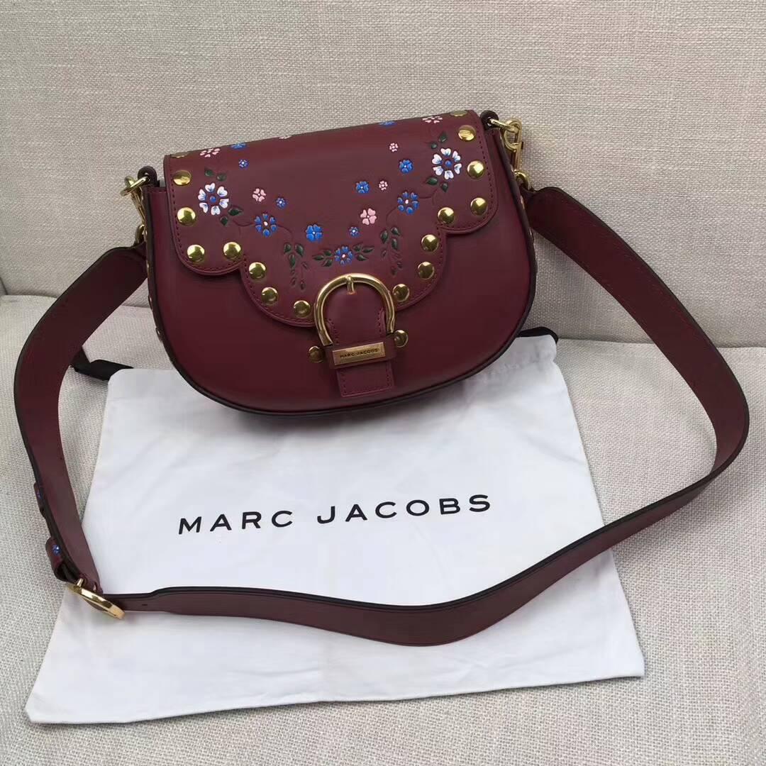 美國Outlet代購 Marc Jacobs MJ Saddle鉚釘馬鞍包 側背包 斜跨包 手提包 跑趴包#多色可選