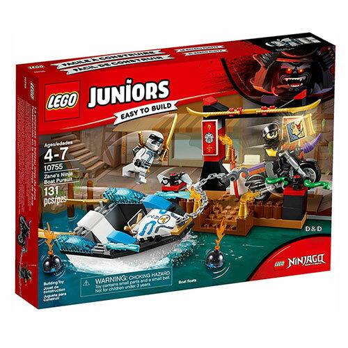 樂高積木 LEGO《 LT10755 》2018 Junior 初學級系列 - 冰忍的忍者船追擊
