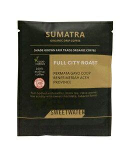 【SWEETWATER】蘇門答臘有機咖啡豆--掛耳式(1包10入) - 限時優惠好康折扣