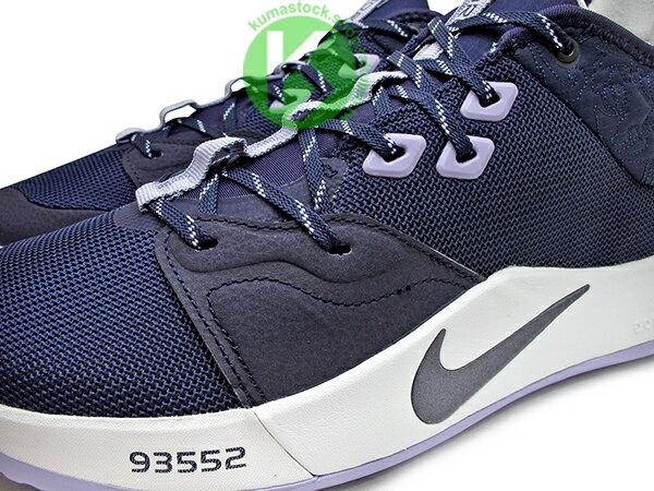 2019 強力登場 全明星球員 Paul George 個人最新簽名鞋款 NIKE PG 3 EP PAULETTE 紫白 母親節 前掌 ZOOM AIR 氣墊 籃球鞋 PG3 (AO2608-901) 0619 2