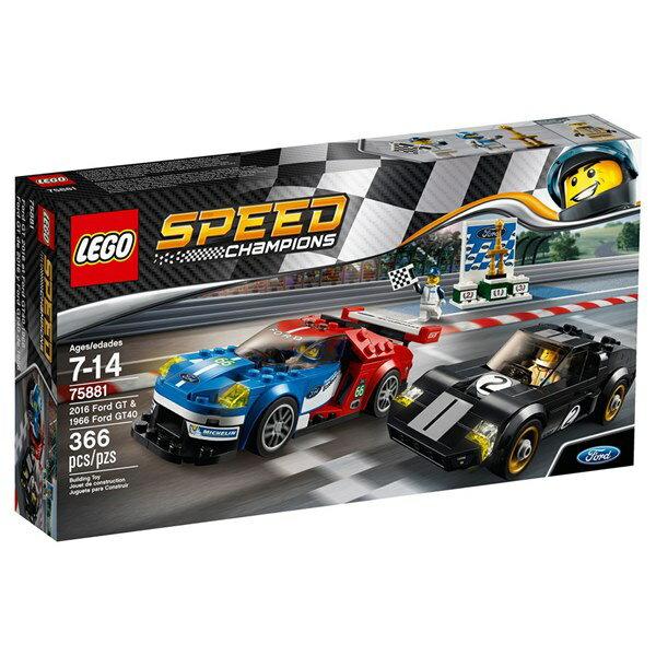 樂高積木 LEGO~ LT75881 ~SPEED CHAMPIONS 系列 ~ 2016