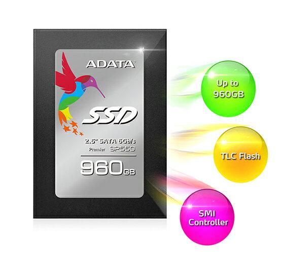 威剛 ADATA Premier SP550 SSD 固態硬碟 公司貨