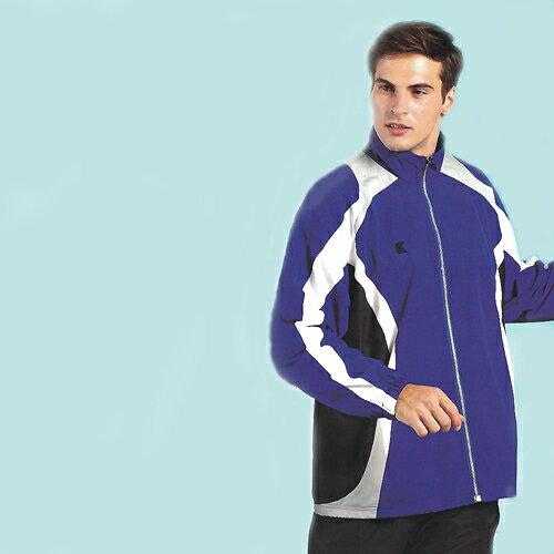日本名牌Kawasaki男女平織棉裡運動服套裝(全套)寶藍-#K2101AB - 限時優惠好康折扣